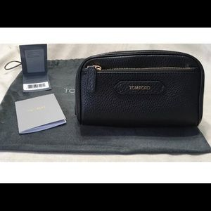 TOM FORD COSMETIC TRAVEL TOILETRY PURSE CLUTCH